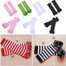 1 Pair Children Baby Girls Socks Leg Warmers Sock Kneepad Tight Stocking Socks