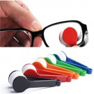 Helpful Spectacles Microfiber Mini Glasses Eyeglass Sunglasses Cleaner Brush