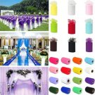 "6"" 25yard Romantic DIY tulle lace fabric spool tutu trim Bridal Wedding Decor FT"