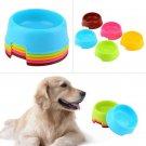 Fashion Pet Dog Cat Puppy Exquisite Plastic Food Feeding Water Dish Bowl Feeder