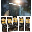 5PCS Lot Warm White Soshine USB Power 6-LED Night Light 1W 5V Touch Dimmer Light
