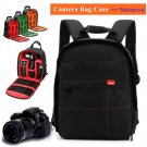 Black Waterproof Camera Backpack Shoulder Bag DSLR Case For Canon / Nikon / Sony
