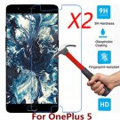 For OnePlus 5 A5000 2PCS 9H Premium Tempered Glass Film Screen Protector
