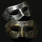 Retro Stylish Mens Masquerade Venetian Halloween Ball Party Cosplay Mask FT74