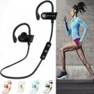 For iPhone Samsung Bluetooth Wireless Sports Stereo Headset Earphone Headphone
