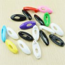 6PCS Lots Plastic Hijab Muslim Islamic Scarf Pin Safety Pin Set Multicolor FT