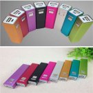 Fashion USB 2600mAh Power Bank 18650 Battery Charger DIY Kit For iPhone 5 5S New