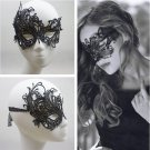 Cool Charming Mysterious Masquerade Ball Party Sexy Fashion Black Lace Mask FT27