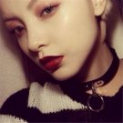 Sexy Classic Gothic Punk Choker Collar Necklace Pendant Leather Chain Neck Ring