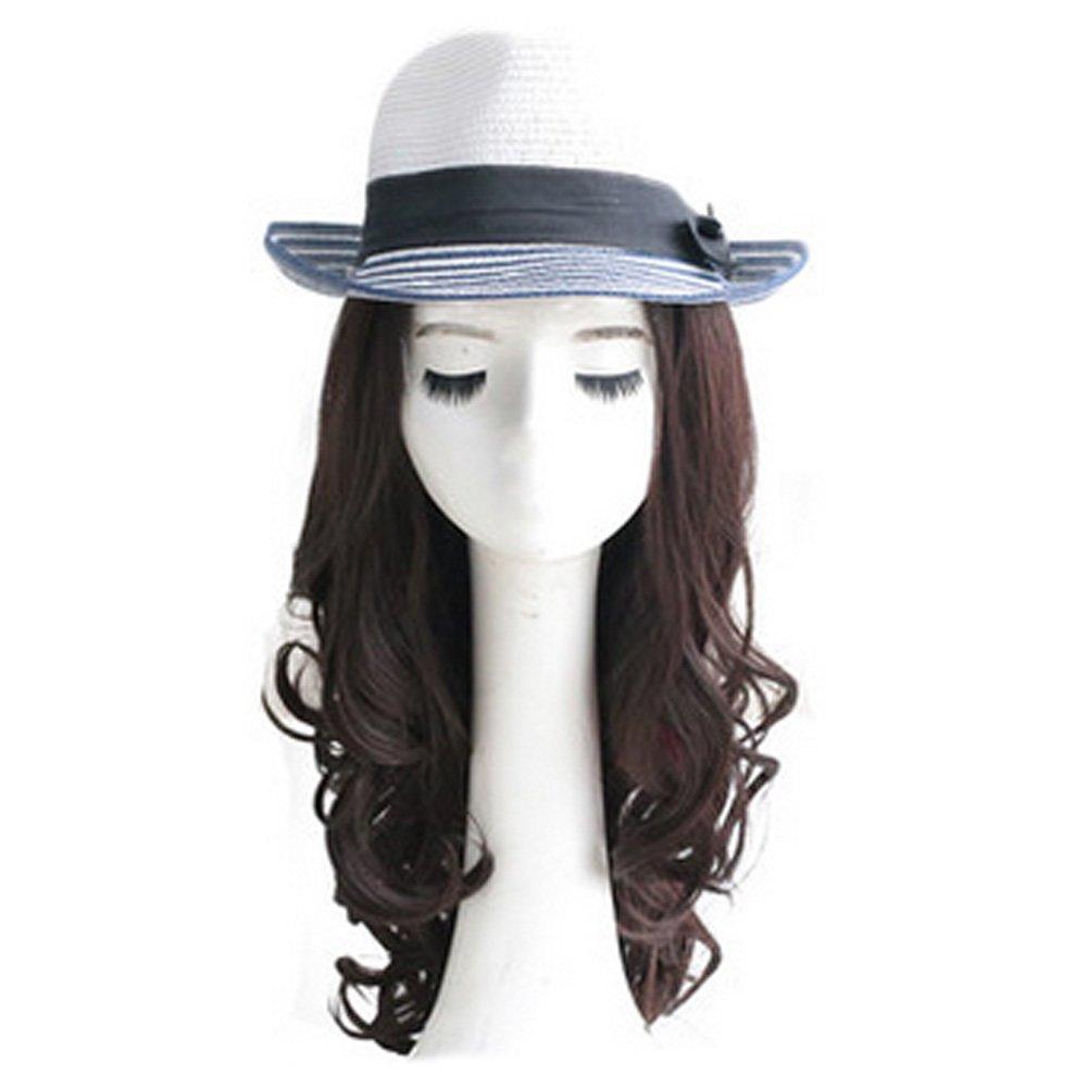 Lady Wig Romantic High Quality Fashion Natural Curls Wig Fashion Bob Dark Brown