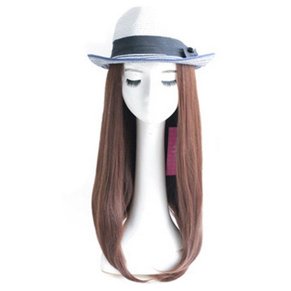 Lady Wig Romantic High Quality Fashion Natural Curls Wig Fashion Bob Brown