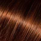 Donna Bella Milan 16 inche Full Head Human Clip-In #4/33: (Dark Auburn Brown)