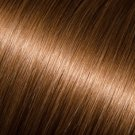 "Donna Bella 22"" Pure Human Remy Hair I-Link Pro Straight #8 (Light Chestnut Brown)"