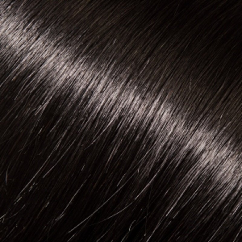 """Donna Bella 22"""" Pure Human Remy Hair I-Link Pro Straight #1 (Jet Black)"""