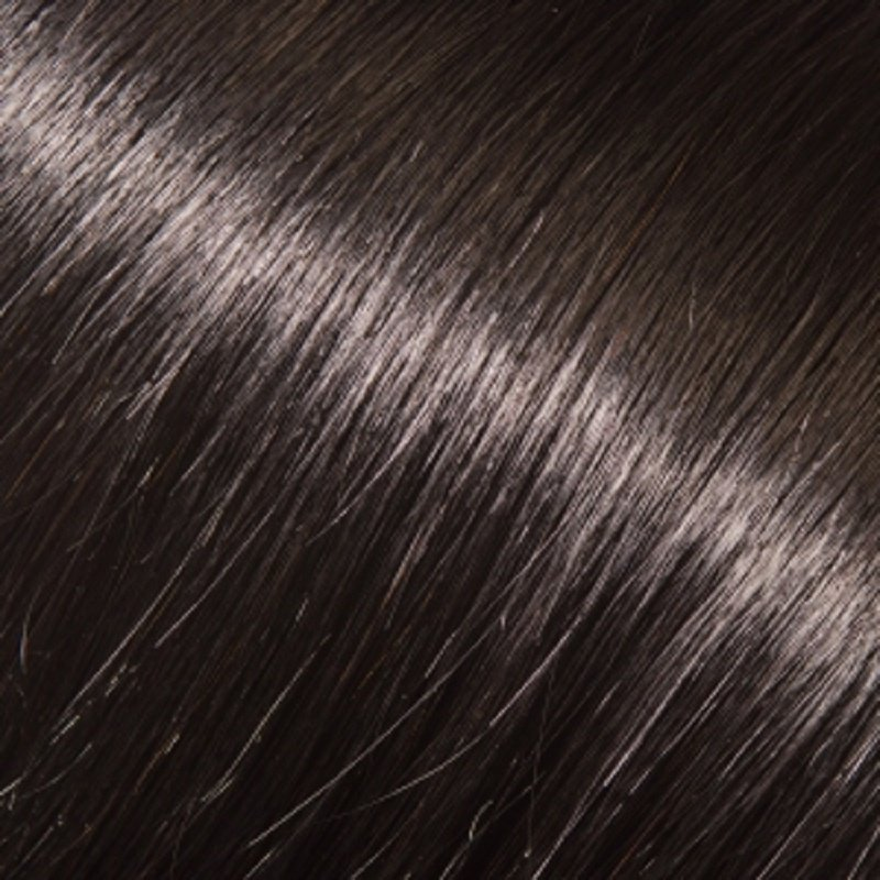 "Donna Bella 22"" Pure Human Remy Hair I-Link Pro Wavy # 1B (Jet Black/Darkest Brown)"