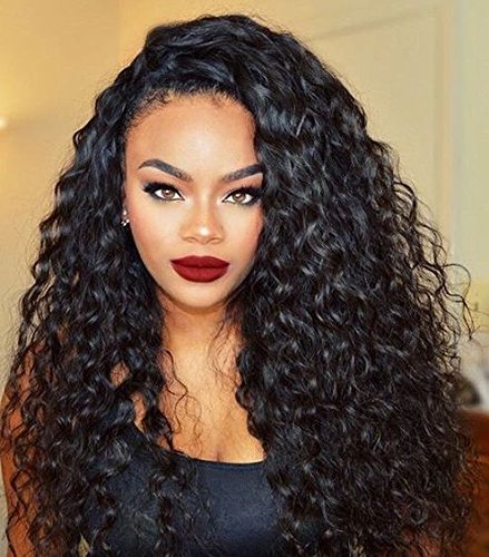 Cute Curly Remy Brazilian Human Hair Wigs Natural Wigs Body Wave Lace Front Wigs 16 inch