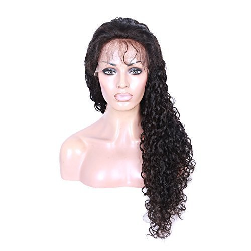"""Cute Curly 100% Human Virgin Hair 2 Natural Looking Loose Lace Front Wig With Baby Hair 22"""""""