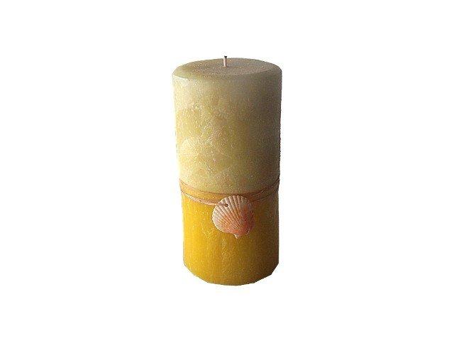 Pineapple Coconut Pillar Candle