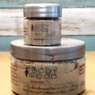 Body Food Unscented Clay Deodorant for Sensitive Skin - 4 oz + 1/2 Travel Pal