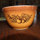 Vintage Pyrex Old Orchard 401 bowl. 1.5 pint size.