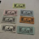 Vintage Waddington's Black Box Rat Race money, bank notes. 1973.