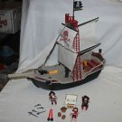 Retired Playmobil 5950 Pirate ship very nearly complete. VGC. HTF