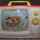 Vintage 1966 Fisher Price Giant Screen - Music Box TV 114. Works well.