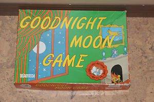 Goodnight Moon board game. Toddler, preschool. Complete