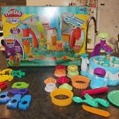 2 Play Doh sets: Magic Swirl Ice Cream Shoppe & Cake Makin' Station 99% complete