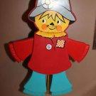 Vintage Fisher Price Jumping Jack Scarecrow crib baby toddler toy 423. 1979-1980