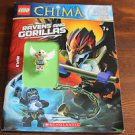 Lego Legends of Chima Activity book w. minifigure. 2014.