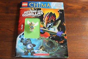Lego Legends of Chima Activity book w. minifigure. 2014.