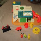 Vintage Fisher Price Little People 937 Sesame Street Clubhouse.