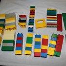Lot 98 Tandem bricks compatible with Lego Duplo. Building construction blocks