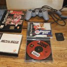 Playstation controller & 4 games: Sled Storm, Knock Out NBA Shoot Out Metal Gear