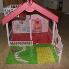 Vintage Barbie Fold n Fun play house. No furniture or accessories.