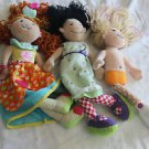 2 Groovy Girls dolls & 1 Manhattan doll. Angelique, Candy Heart Cassidy