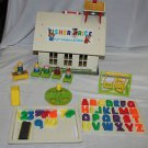 Vintage Fisher Price Little People School 923. 99.9% complete. Eraser.