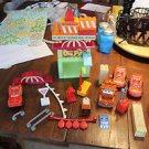 Mega Bloks duplo size LOT Cars Pixar set 7791 two Lightning McQueen cars, Rusty