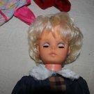Vintage 18 inch Regal Karen Magnussen doll. No original clothing.
