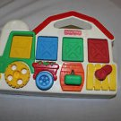 Vintage Fisher Price Pop Up Farm 5826. Baby, toddler, chicken, sheep, cow