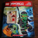 Lego Ninjago: Way of the Ghost Activity book w. minifigure. Good condition.