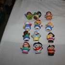 12 Fisher Price Little people. Sonia, fireman, dalmation, More