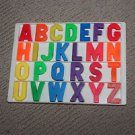 Vintage Fisher Price 923 Alphabet tray and complete magnetic alphabet.