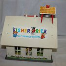 Vintage Fisher Price Little People School 923 with eraser. 99.9% complete VGUC