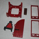 Playmobil parts Rock Castle 3269. Roof, door frames, bench, throne, roof frame,