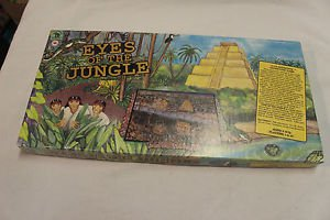 Eyes of the Jungle co-operative board game. 1991 Family Pastimes