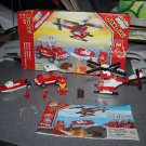Banbao building toy. Fire 8129. Lego compatible. Box, instruction, minifigure.