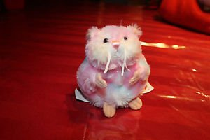 Ganz Webkinz Pink Hamster First Edition Sweetie .No Code. W embroidered on back.
