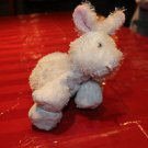 Ganz Webkinz White Bunny Rabbit. Ganz tag, no code. W embroidered on foot.